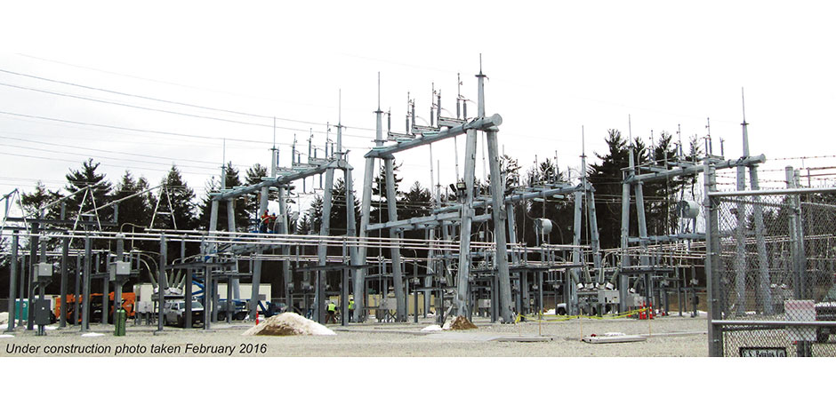 Eversource Peaslee Substation, Kingston, NH