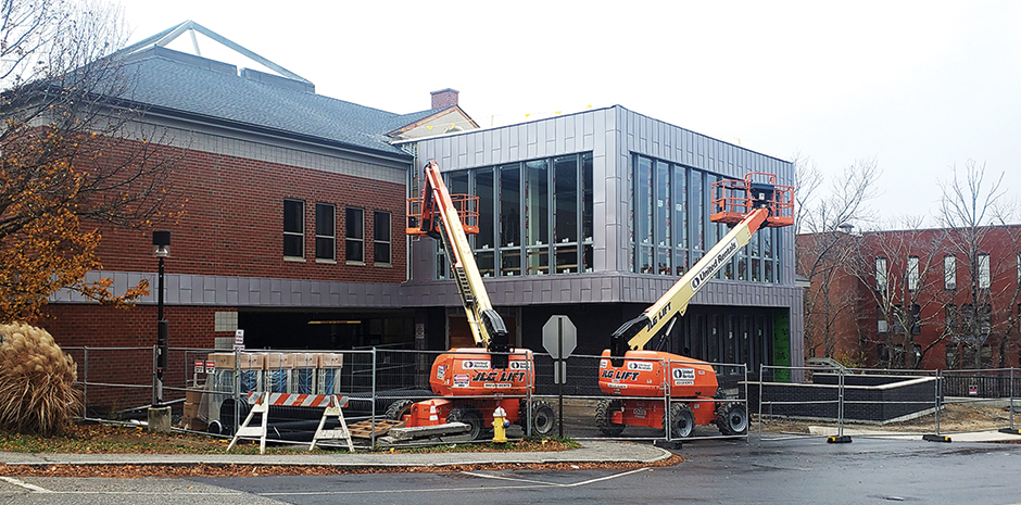 TFMoran Structural Engineers for Exeter Public Library Additions