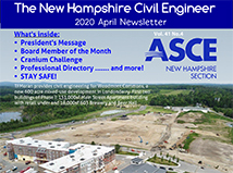 "TFMoran's Woodmont Commons project featured on the cover of ""The New Hampshire Civil Engineer"" April issue"