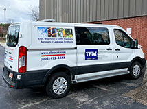 TFMoran adds a new work van for the survey department