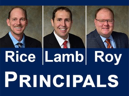 TFMoran promotes engineers Christopher Rice, Thomas Lamb and Kyle Roy to Principals
