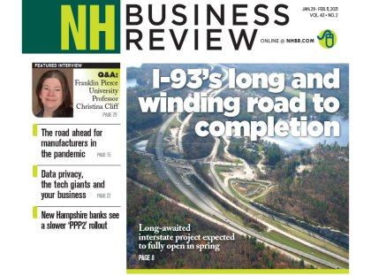 TFMoran's Stormwater Project, I-93 Widening, Featured in NH Business Review