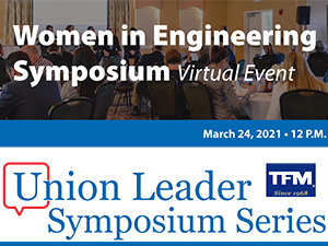 TFMoran Sponsors 2021 Women in Engineering Symposium March 24th