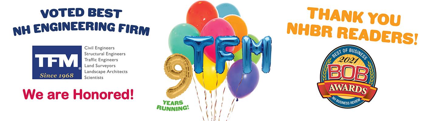 TFMoran Celebrates 9 BOB Awards in 2021