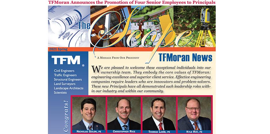 TFMoran Newsletter Spring 2021