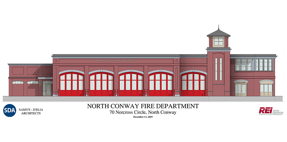 TFM Structural Engineers for North Conway Fire Station