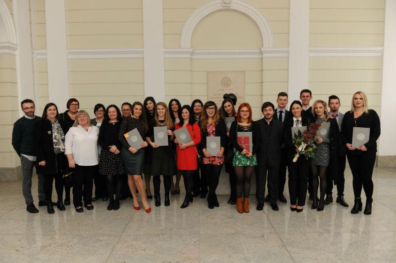Fotografija s nastavnicima
