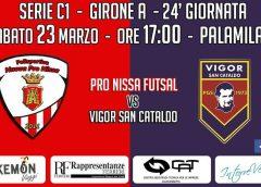 Sabato è tempo di derby, arriva al Pala Milan la Pgs Vigor San Cataldo. Un derby da vincere per mantenere l'imbattibilità.