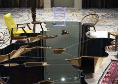 Tavolo specchiante del Mediterraneo