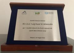 La scuola I.I.S.S. L. Russo premiata ai Giochi della Chimica 2019