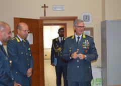 Guardia di Finanza: visita del Comandante Interregionale dell'Italia Sud Occidentale al Comando Provinciale di Caltanissetta