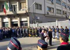 Caltanissetta. Commemorazione in Questura dei caduti per i tragici fatti di Trieste