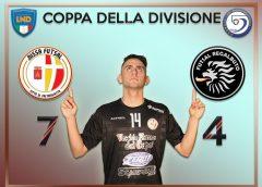 Impresa storica per i ragazzi di mister Tarantino che passano il turno di Coppa Divisione battendo il Futsal Regalbuto