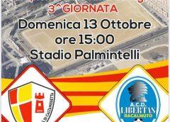 Calcio. Domenica Asd Città di Caltanissetta – Libertas Racalmuto, fischio d'inizio fissato per le 15