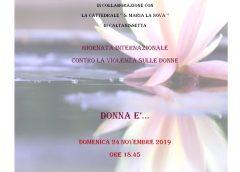 """""""Casa Rosetta"""", """"Donna è…"""" Giornata Internazionale contro la violenza sulle donne il 24 novembre"""