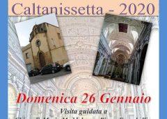 """""""Scoprire e riscoprire Caltanissetta"""" domenica visite guidate Chiesa di S. Maria Maddalena penitente, Piazzetta Tripisciano e la Chiesa S. Croce"""
