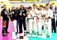 Torneo nazionale di Karate Kyokushinkai a Lecce. Ottimi risultati per la 'Power Gym' di San Cataldo