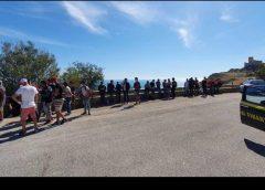 Migranti sbarcano sulla spiaggia nell'Agrigentino