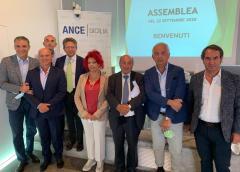 ANCE SICILIA-Santo Cutrone confermato presidente di Ance Sicilia-In squadra una donna-Mancano 180 mln per depuratori