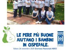 Giornata Nazionale perAmore, perABIO – Le pere più buone aiutano i bambini in ospedale
