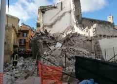 Crolla casa a San Cataldo, nessun ferito