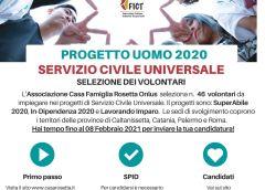 """Associazione """"Casa Rosetta"""" – Tre progetti per il Servizio Civile Universale"""