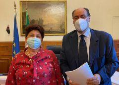 Sosta e circolazione Autocaravan, Ivan Perriera incontra la Viceministra Bellanova