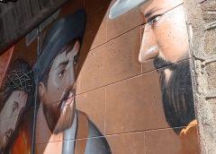 Un nuovo murales in via Rosso di San Secondo