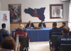 Capo della Polizia Giannini in visita nella provincia di Caltanissetta