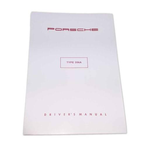 Porsche Type 356A Drivers Manual
