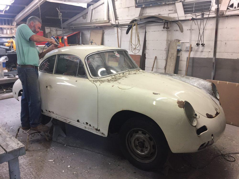 Porsche 356 SC Body Work