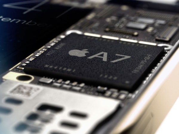 Apple A7 Processador. Apple A7 Processor.