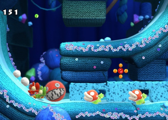 Wii U Yoshi's Woolly World Review
