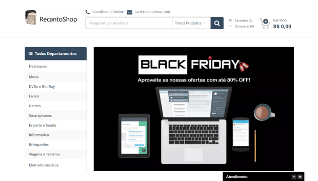 RecantoShop Black Friday 2015