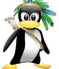 Mascote do Kurumim Linux