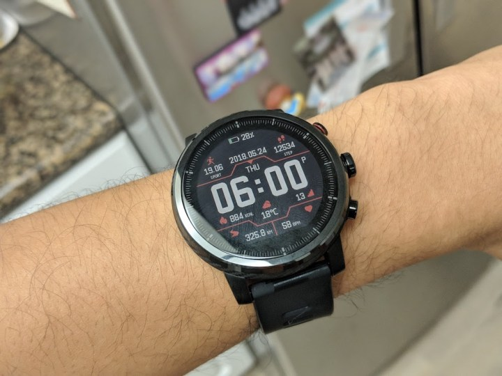 Amazfit Stratos watch