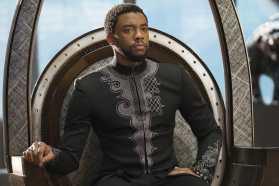 Marvel Studios' BLACK PANTHER T'Challa/Black Panther (Chadwick Boseman) Photo: Matt Kennedy ©Marvel Studios 2018