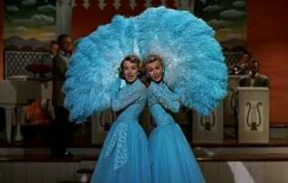Rosemary Clooney, and Vera Ellen in White Christmas (1954)