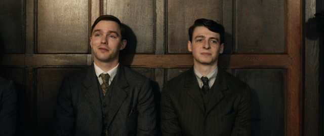 Nicholas Hoult and Anthony Boyle in the film TOLKIEN. Photo Courtesy of Fox Searchlight Pictures. © 2019 Twentieth Century Fox Film Corporation All Rights Reserved