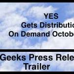 """""""YES"""" Available On Demand October 5th"""