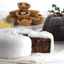 Mince Pies, Christmas Puddings, & Cakes