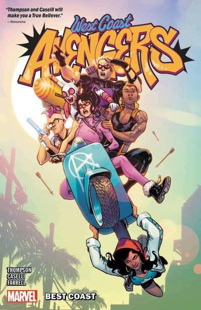 West Coast Avengers: Best Coast