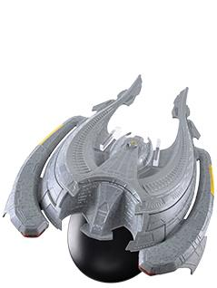 Star Trek Sona Die Cast Flagship | Star Trek The Official Starship Collection   Eaglemoss Collection