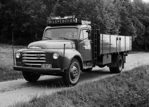 Första lastbilen