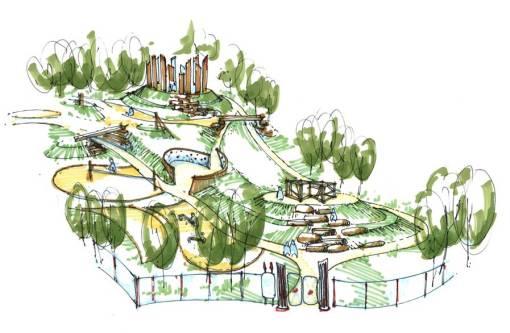 Sketch Romano Park