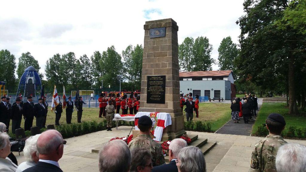Walker Park – War Memorial Rededication