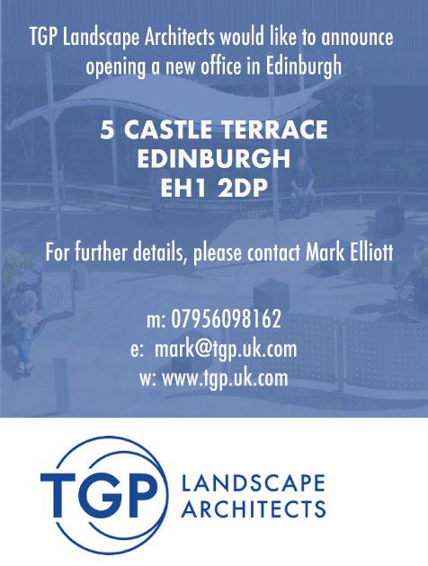 TGP Edinburgh office