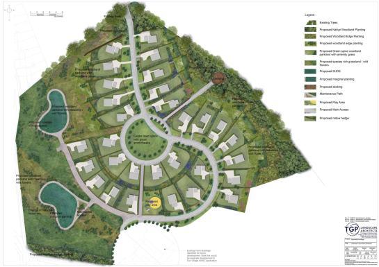 Landscape Layout Plan Kypeside