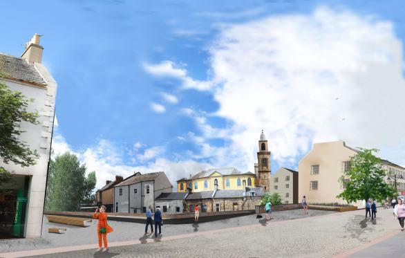 King street Kilmarnock Town Centre