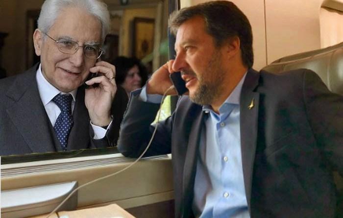 Salvini Mattarella Telefono
